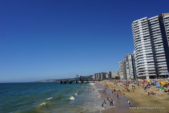 Viña del Mar beach