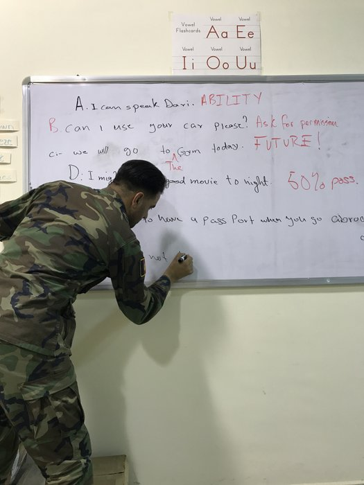 Teaching English in Afghanistan