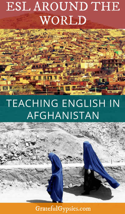 teaching English | Afghanistan | teach abroad