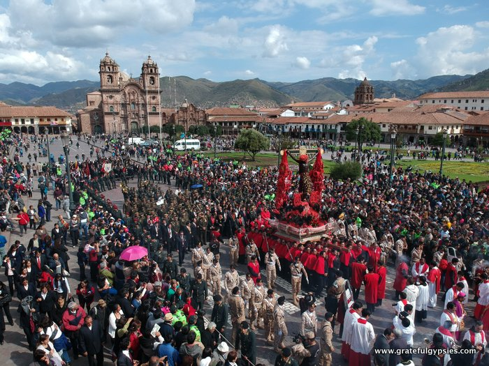 Cusco Easter Procession