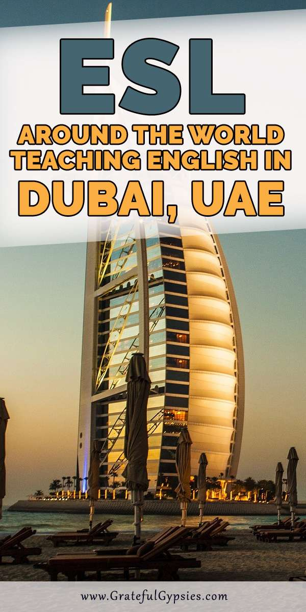 Teaching English abroad is a great way to travel and learn about other cultures. In this interview, we learn about about teaching English in Dubai. ESL Around the World is an interview series meant to give you a better idea of what teaching overseas is like. #teachingabroad #teachingenglishabroad #dubailiving
