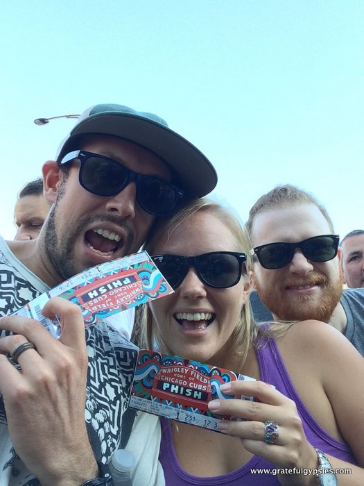 Phish gifts tickets