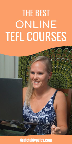 Want to get your TEFL certification online? This post does a deep dive on the best online TEFL courses. Whether you want to teach English abroad or teach English online, this is where you'll find everything you need to know. #teachesl #teflcertification #teachenglishabroad #teachenglishonline