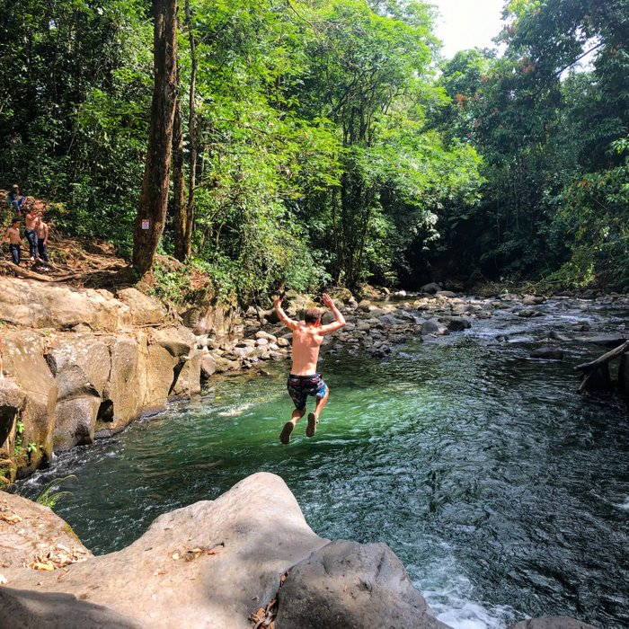 two weeks in costa rica swimming hole