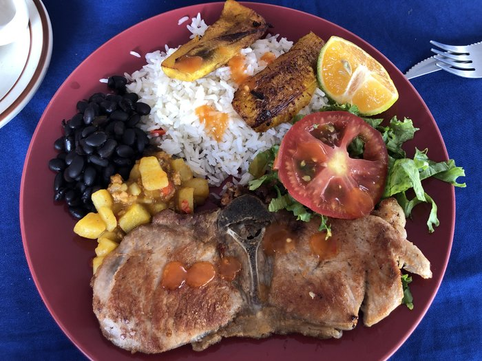 two weeks in costa rica food