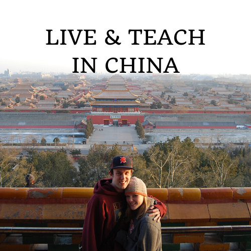live and teach in China