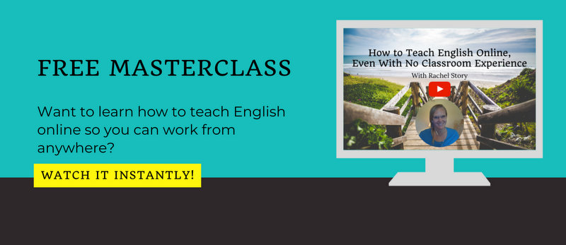watch the free masterclass, learn how to teach english online with no experience