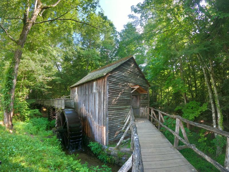 cades cove cable mill great smoky mountains vacation
