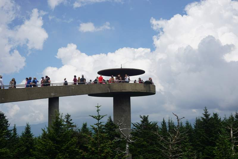 Clingmans Dome Great Smoky Mountains Vacation