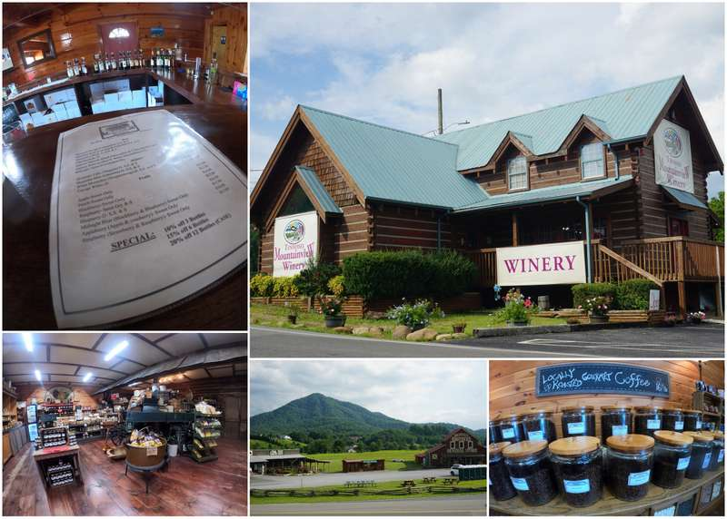 Mountain Brothers General store and Mountain View Winery Wears Valley