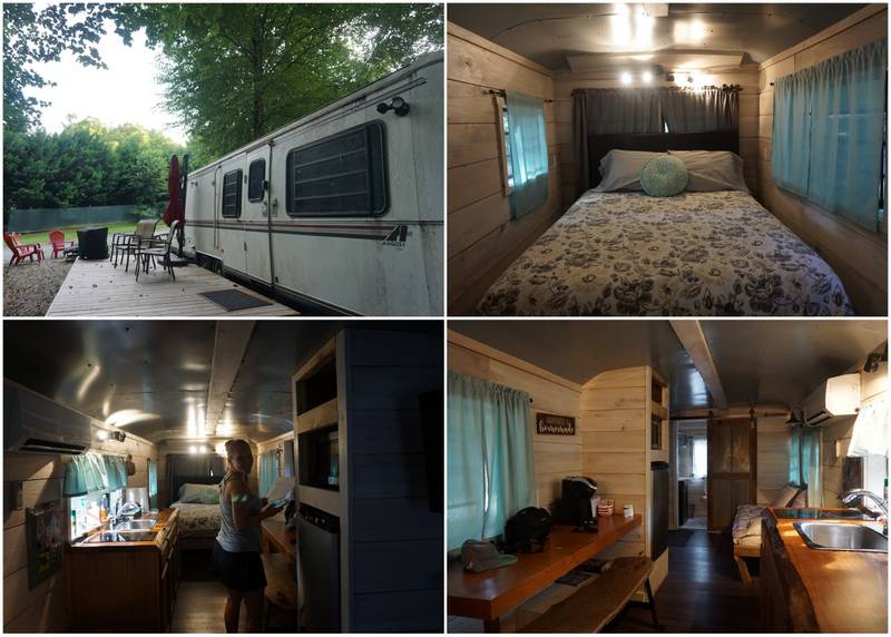 RV Glamping Great Smoky Mountains
