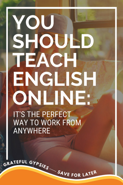 teaching english online perfect way to work from anywhere pin 1