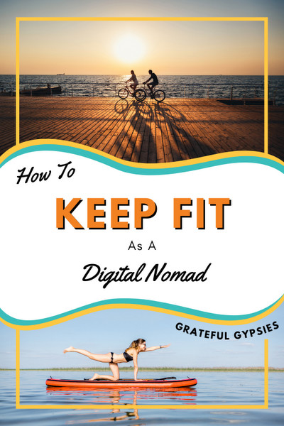 how to stay healthy as a digital nomad pin 3
